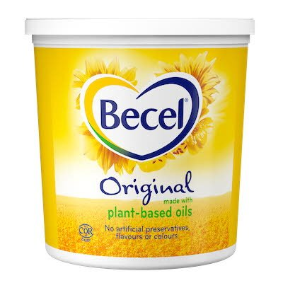 Becel® Margarine Tub 4 pound, pack of 6