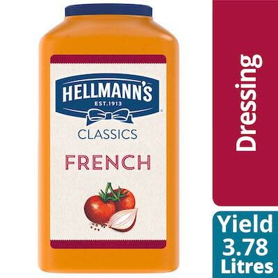 Hellmann's® Classics French Salad Dressing 2 x 3.78 L -