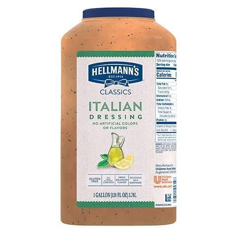 Hellmann's® Classics Salad Dressing Italian 3.78 Liters, Pack of 2 - 10063350202606
