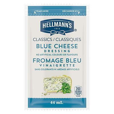 Hellmann's® Classics Salad Dressing Portion Control Sachet Blue Cheese 44ml, Pack of 102