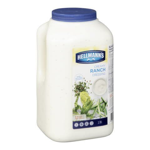 Hellmann's® Classics Salad Dressing Ranch 3.78 Liters, Pack of 2 - 10063350202569