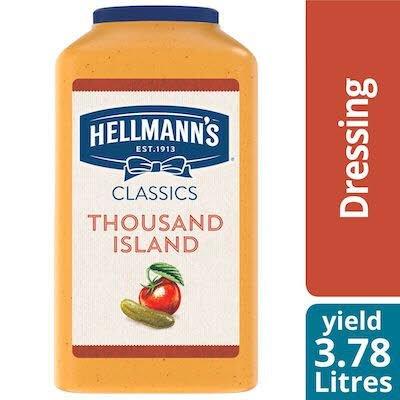 Hellmann's® Classics Thousand Island Salad Dressing 2 x 3.78 L -