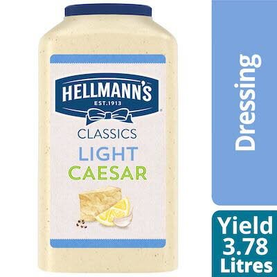 Hellmann's® Light Caesar Dressing 3.78 liter, pack of 2 -