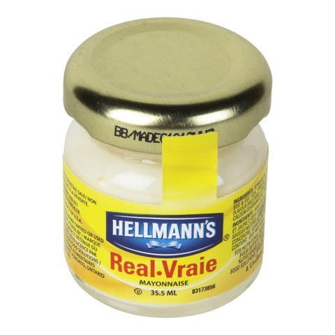 Hellmann's® Mayonnaise Room Service Jar Real 72 count -