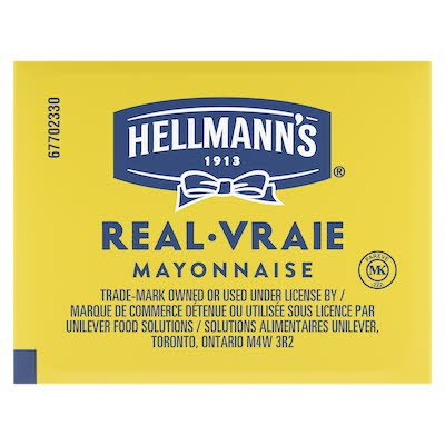 Hellmann's® Real Mayonnaise 200 x 18 ml -