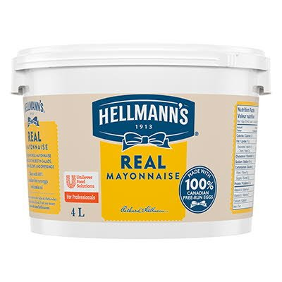 Hellmann's® Real Mayonnaise 4 liters, pack of 2 -