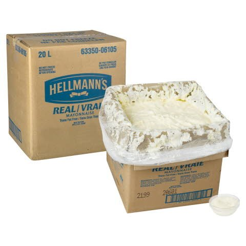 Hellmann's® Real Mayonnaise Bag in Box 1 x 20 L -