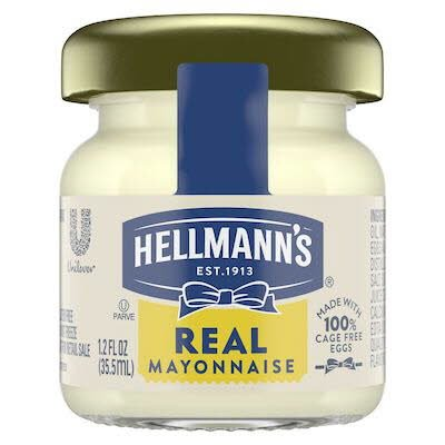 Hellmann's® Real Mayonnaise Mini Jar 72 x 35.5 ml -