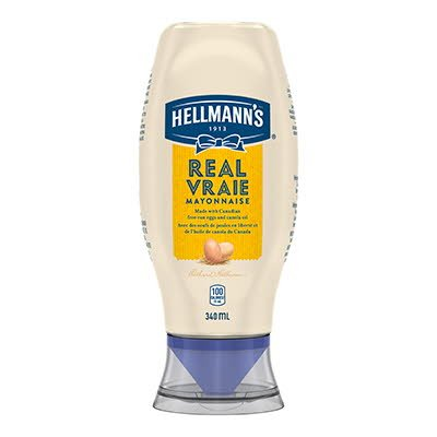Hellmann's® Real Mayonnaise Squeeze Bottle 8 x 340 ml -