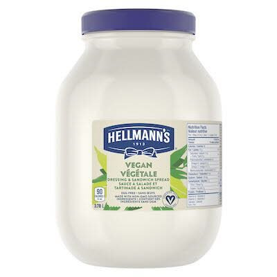 Hellmann's® Vegan Mayo 3.78 liters, pack of 2 -