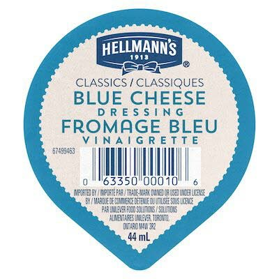 Hellmann's® Classics Salad Dressing Blue Cheese Dip Cup 44 ml, pack of 108 -