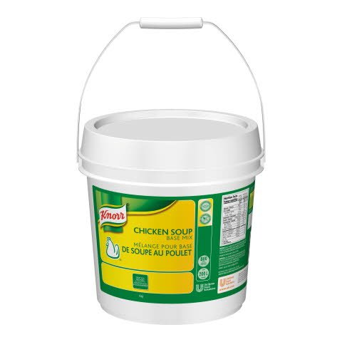 Knorr® Chicken Soup Base (No MSG) 4 kilograms, pack of 1 -