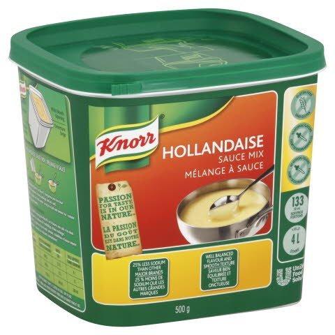 Knorr® HOLLANDAISE SCE GLUTEN FREEKNORR 6 500g - 10063350376123