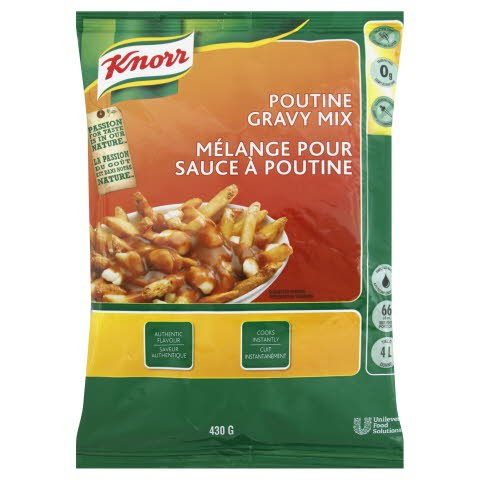Knorr® Poutine Gravy 430 gram, pack of 6 -