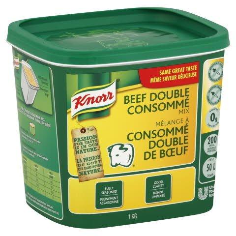 Knorr® Professional Beef Double Consommé Mix 6 x 1 kg -