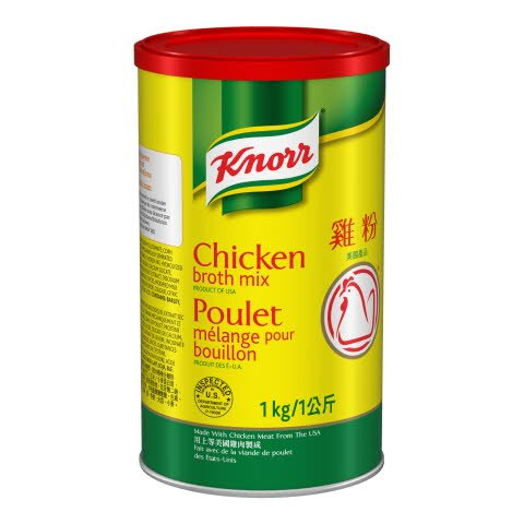 Knorr® Professional Chicken Broth Mix 1 kilogram, pack of 6 -