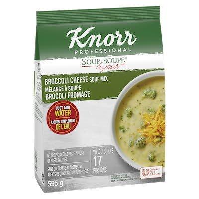 Knorr® Professional Soup Du Jour Mix Broccoli Cheddar 4 x 595 gr -