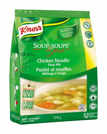 Knorr® Professional Soup Du Jour Mix Chicken Noodle 4 x 378 gr -