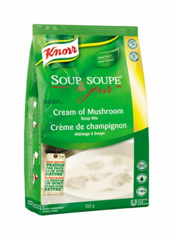 Knorr® Professional Soup Du Jour Mix Cream of Mushroom 4 x 555 gr -