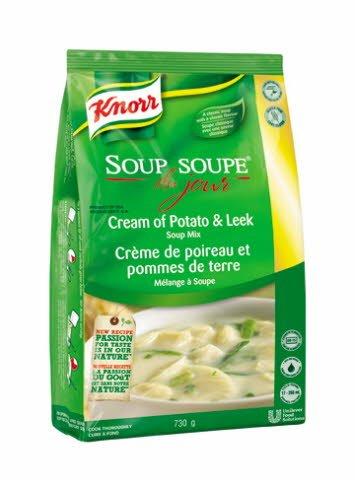 Knorr® Professional Soup Du Jour Mix Cream of Potato & Leek 4 x 730 gr -