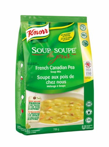 Knorr® Professional Soup Du Jour Mix French Canadian Pea 4 x 789 gr -