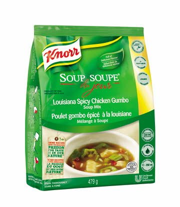 Knorr® Professional Soup Du Jour Mix Louisiana Spicy Chicken Gumbo 4 x 479 gr -