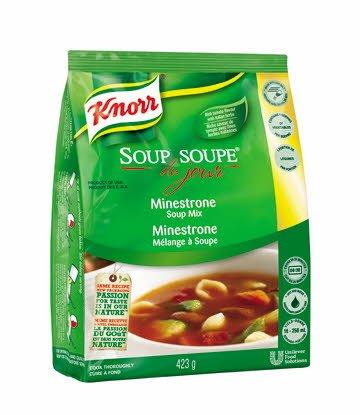 Knorr® Professional Soup Du Jour Mix Minestrone 4 x 423 gr -