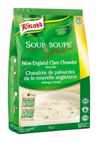 Knorr® Professional Soup Du Jour Mix New England Clam Chowder 4 x 765 gr -