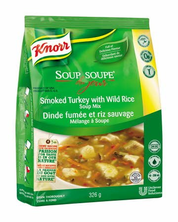 Knorr® Professional Soup Du Jour smoked turkey with tild rice 326 gramm -