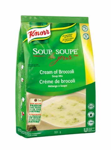 Knorr® Soup Du Jour SDJ Cream of Broccoli Soup Mix