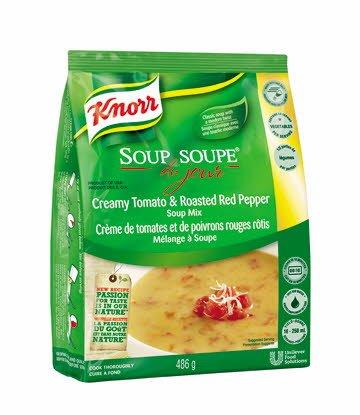 Knorr® Soup Du Jour SDJ CRM TMATO+RD PEPR