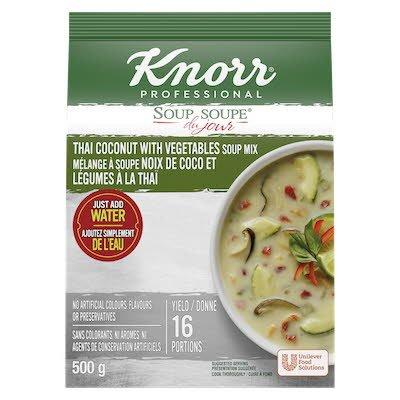Knorr® Soup Du Jour Thai Coconut Vegetables  4 x 500 gr -