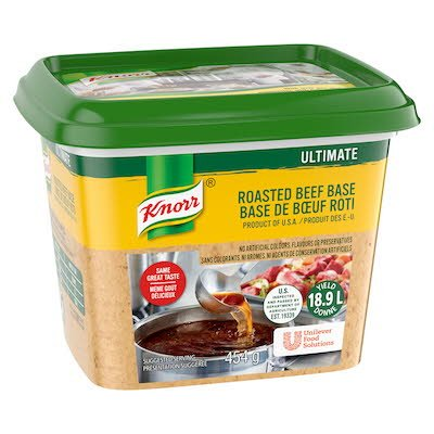 Knorr® Ultimate Beef Base Gluten Free 454 gram, pack of 6 -