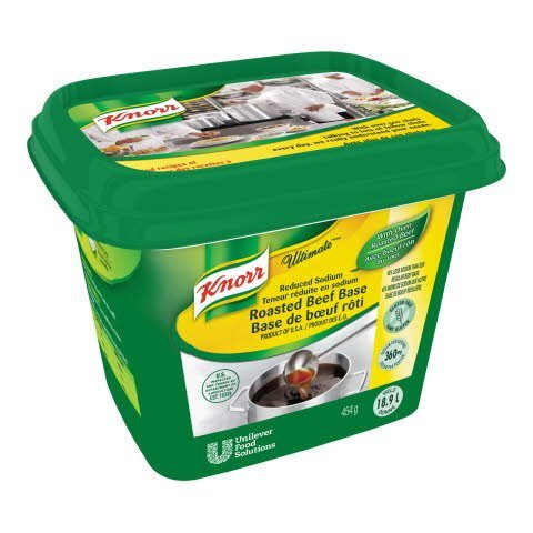 Knorr® Ultimate Reduced Sodium Roasted Beef Base - 10063350499914
