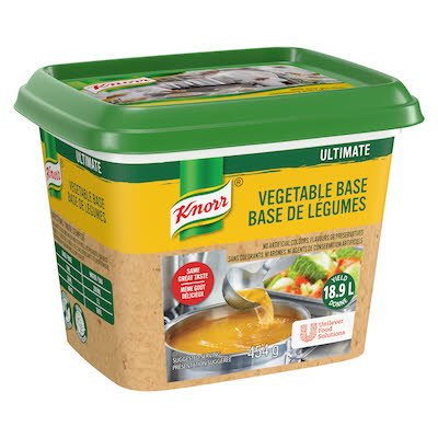 Knorr® Ultimate Vegetable Base Gluten Free 454 gram, pack of 6