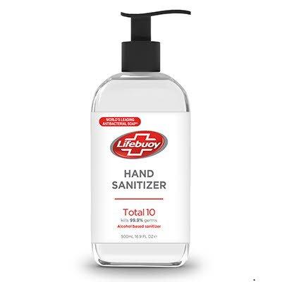 Lifebuoy Hand Sanitizer Total10, 20 x 500 ml -