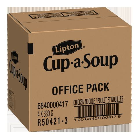 Lipton® Cup-a-Soup Chicken Noodle Original Recipe 330 gram, pack of 4 -