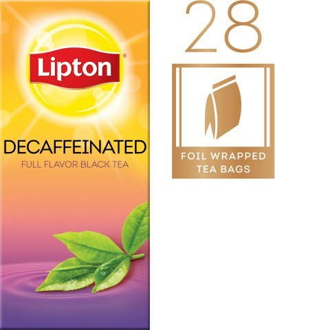 Lipton®  Hot Tea Bags Decaffeinated Black 168 count