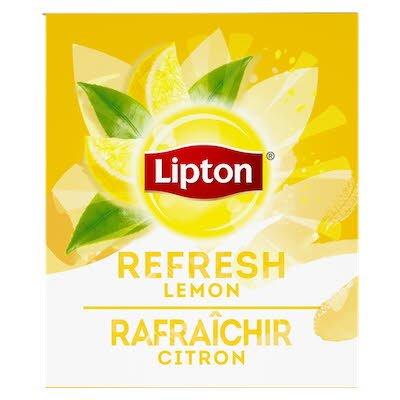 Lipton® Hot Tea Bags Enveloped Lemon pack of 6, 28 count - Lipton® varieties suit every mood