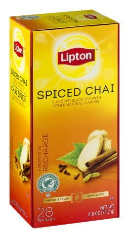 Lipton® Spiced Chai Tea -