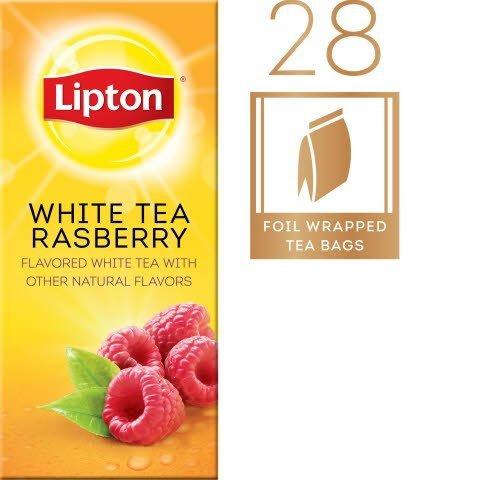 Lipton® White Tea with Raspberry - 10041000003933