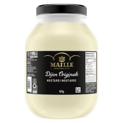 Maille Dijon Originale Mustard, 4.1 kilogram, pack of 4 -