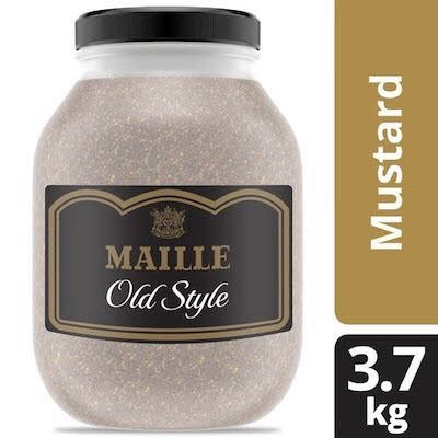 Maille Old Style Mustard 3.7 kilogram, pack of 4 -