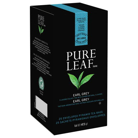 Pure Leaf Hot Tea Bags Earl Grey 6/25 ct - 10041000724227