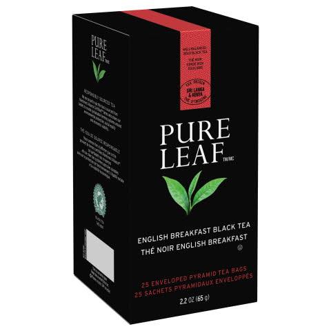 Pure Leaf Hot Tea Bags English Breakfast 6/25 ct - 10041000723107