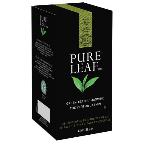 Pure Leaf Hot Tea Bags Green Tea with Jasmine 6/25 ct - 10041000724319