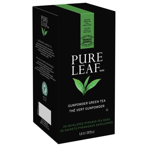 Pure Leaf Hot Tea Bags Gunpowder Green Tea 6/25 ct - 10041000724340