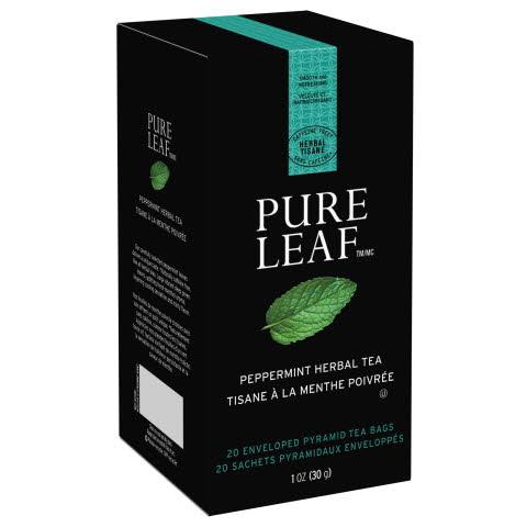Pure Leaf Hot Tea Bags Peppermint 6/20 ct - 10041000724333
