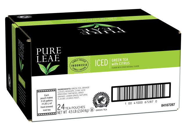 Pure Leafᵀᴹ/ᴹᶜ Iced Green Tea with Citrus - 10041000672245