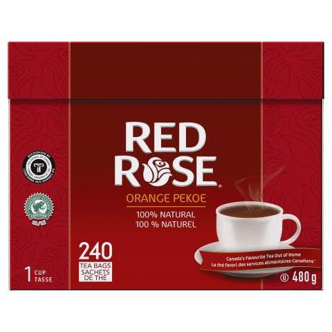 Red Rose® Black Tea Bag 1 cup - 10068400594069
